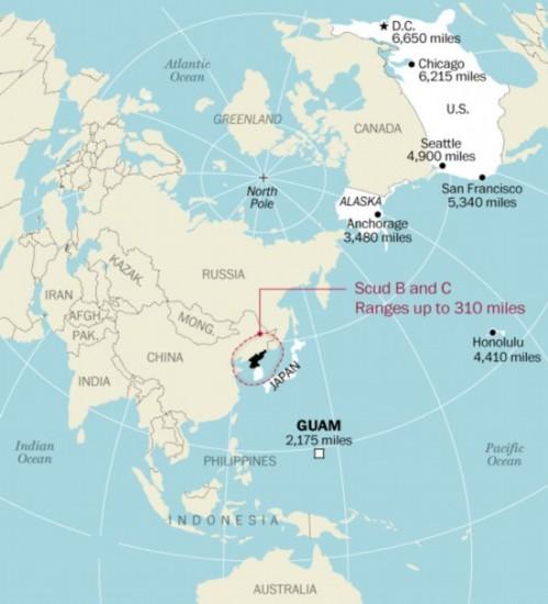 朝鲜各型弹道导弹最远能打到哪1