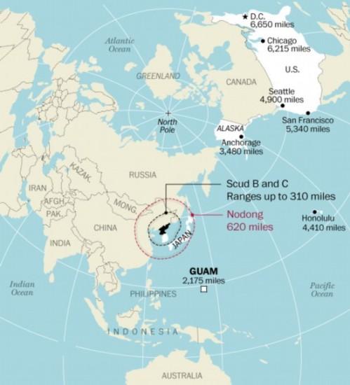 朝鲜各型弹道导弹最远能打到哪2