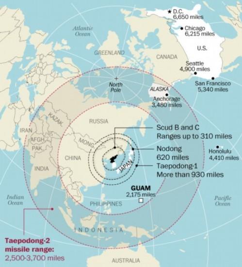 朝鲜各型弹道导弹最远能打到哪4
