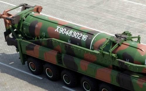 朝鲜KN-8弹道导弹2