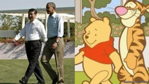 奥巴马习近平萌图