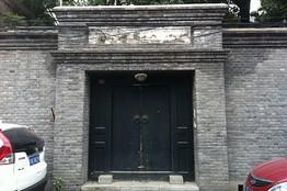 薄北京住宅大门